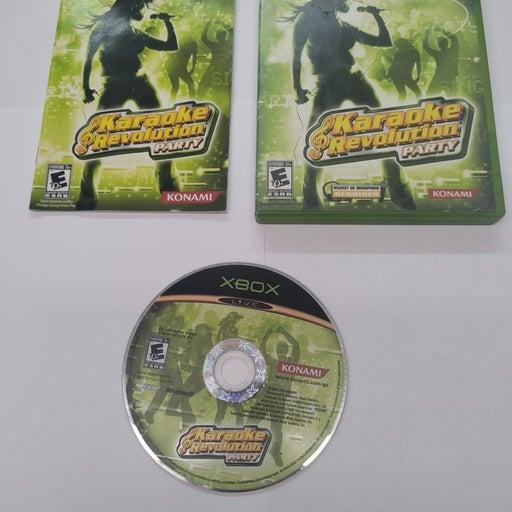 Karaoke Revolution party Xbox game