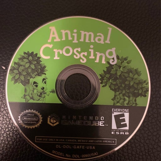 Animal Crossing for Gamecube Disc Only resurfaced