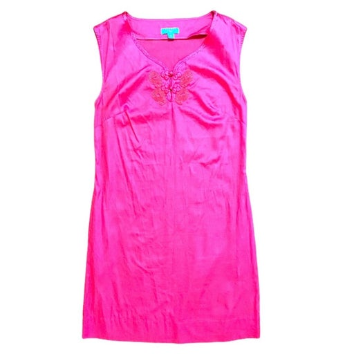 Calypso St. Barth For Target Hot Pink Sheath Dress Sz 8