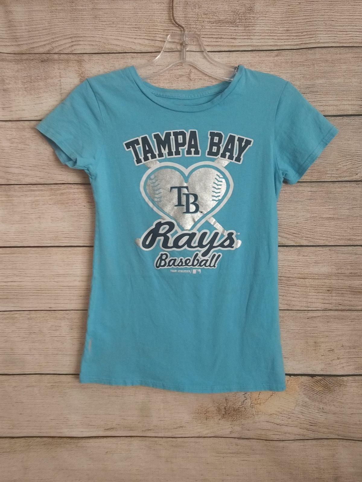 Tampa Bay Rays Girls Heart Shirt 10/12