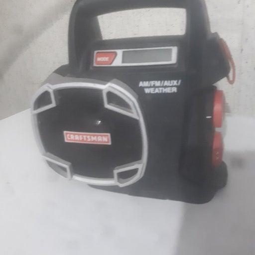 Craftsman 19.2v am/fm/weather portable r