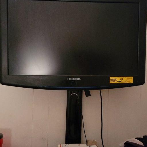 CURTIS flat screen TV