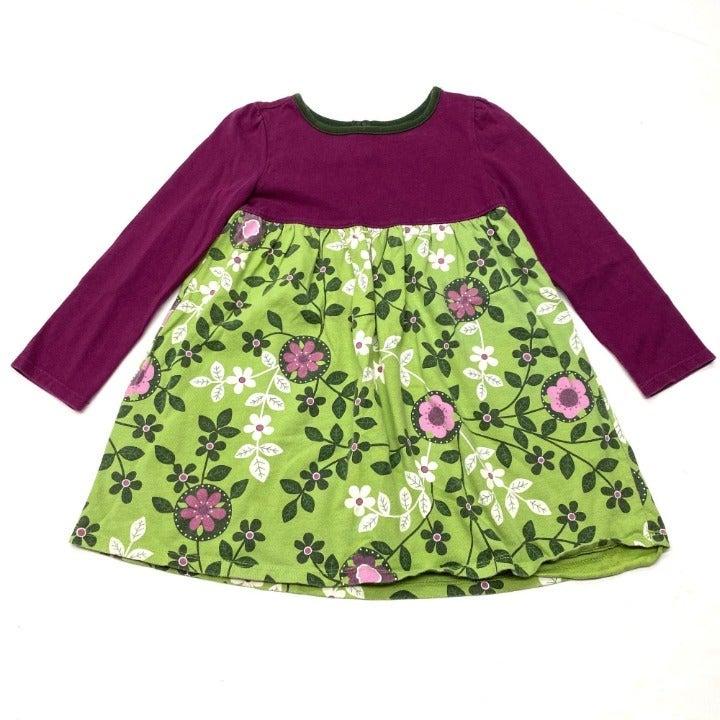 L.L. Bean Floral Tunic A-Line Dress
