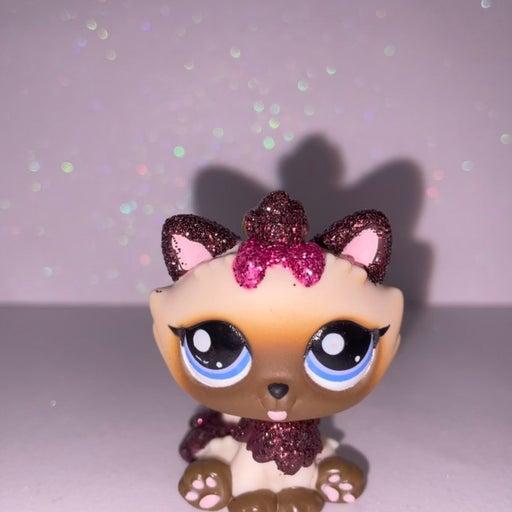 LPS Rare Glitter Kitten
