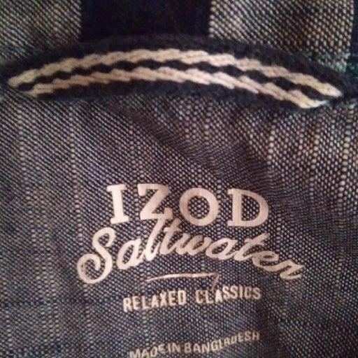 Mens Shirt Izod Saltwater