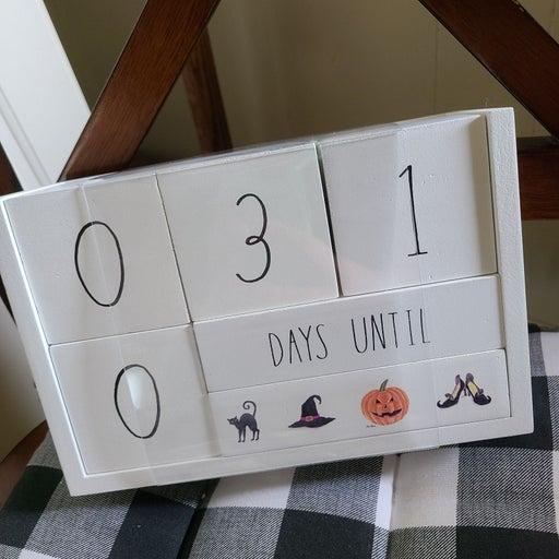 Rae Dunn Countdown Calender