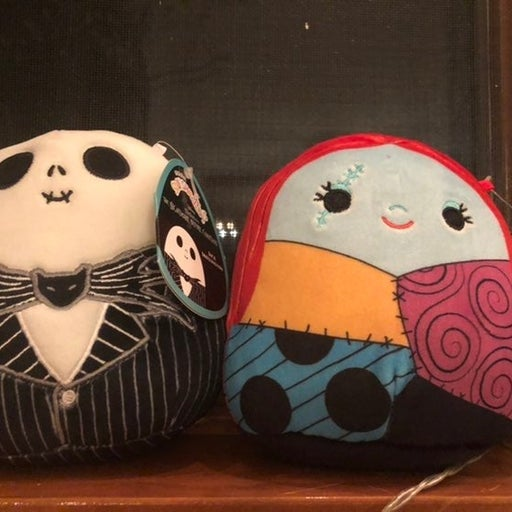 """Squishmallows Jack and sally 5"""" set"""