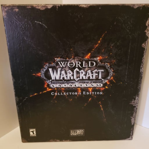 World of Warcraft Collectors Edition cat