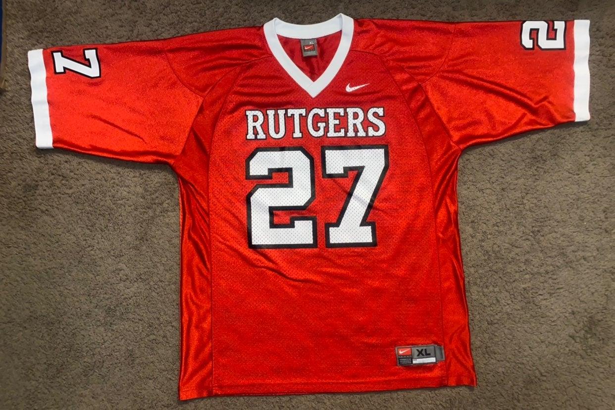 Nike Rutgers Football Jersey #27 Size XL