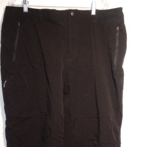 LL BEAN Thick Nylon Outdoor Pants Black