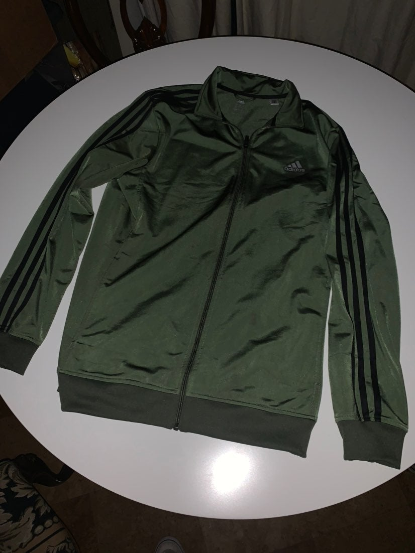 Adidas track jacket Shiny Green 1990s