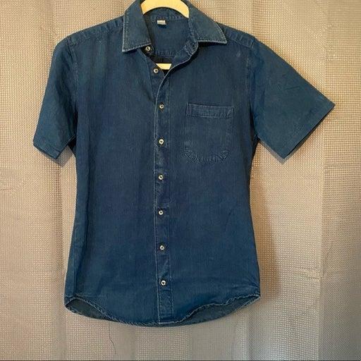 American Apparel The Denim Shirt Button