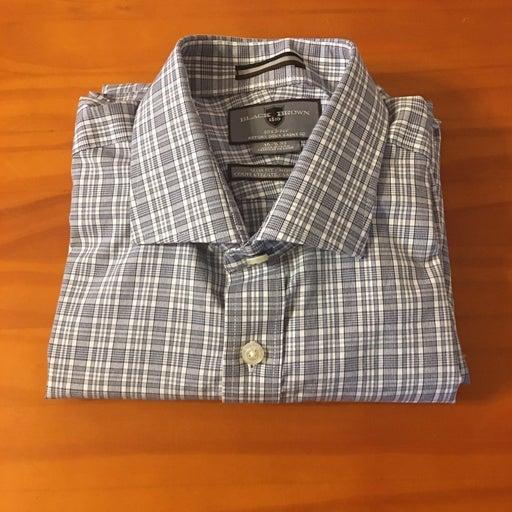 Mens Dress Work Shirt by Black Brown