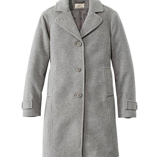 L.L. Bean Women's Lambswool Polo Coat 4R