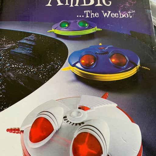 The weebot kids toy robot