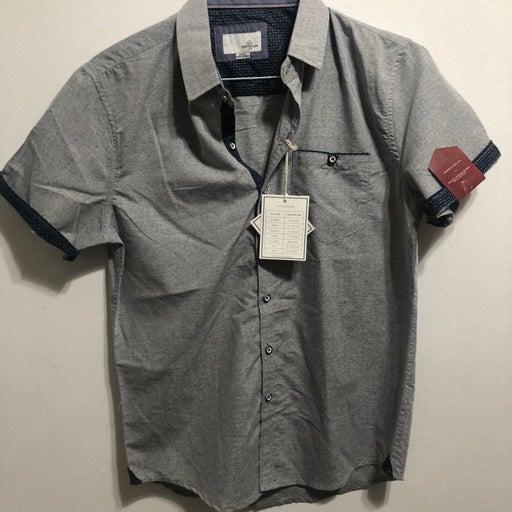 Craft & Flow button down SS shirt