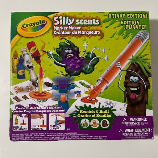 Silly Scents Crayola Marker Maker Stinky Edition