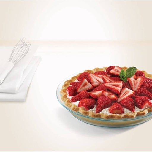 PYREX Glass Cake Plate (9.3 '')