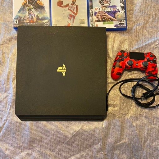 ps4 pro console with extras!