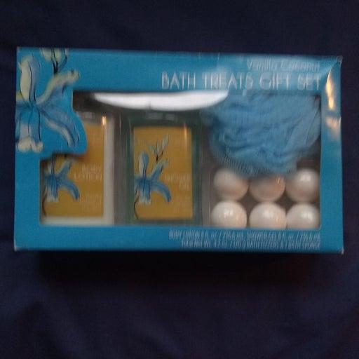 Bath Treats Gift Set - Vanilla Coconut