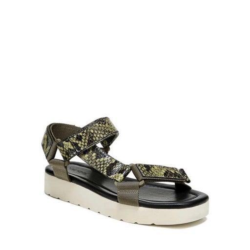 Vince Carver Leather Platform Sandals