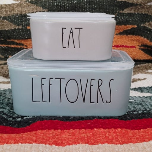 Rae Dunn food containers