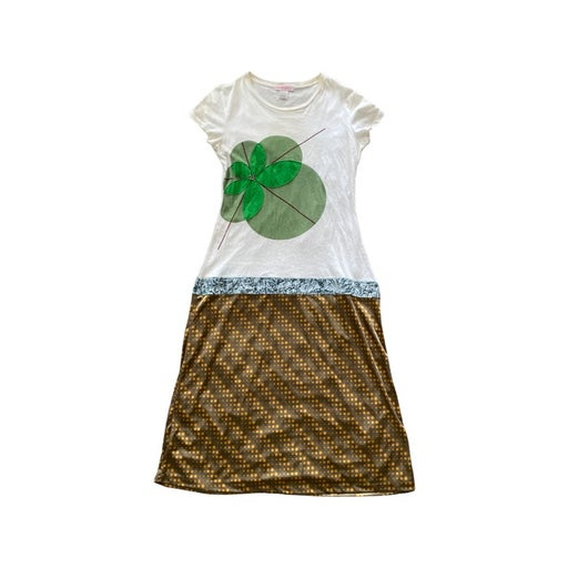 Custo Barcelona Clover print Funky Dress