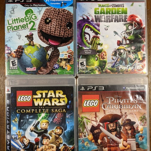 Family games bundle for PS3