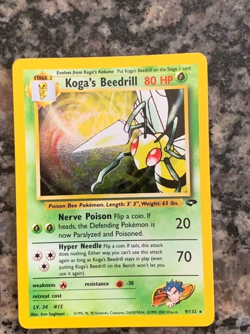 Holographic Koga's Beedrill 9/132