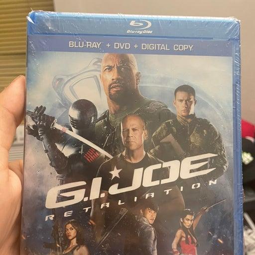 G.I. Joe: Retaliation (Blu-ray/DVD) NEW Factory Sealed, Free Shipping