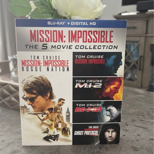 Mission Impossible 5 movie Blu Ray Set