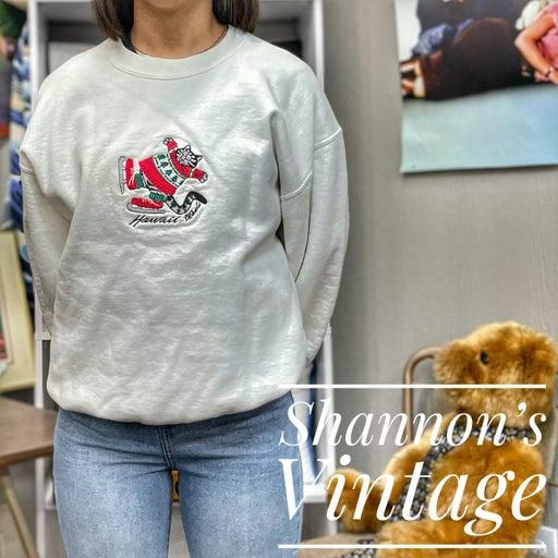 Crazy Shirt Hawaii Winter vintage crew