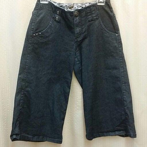 Bg M 7 Crest gouchos short denim jeans