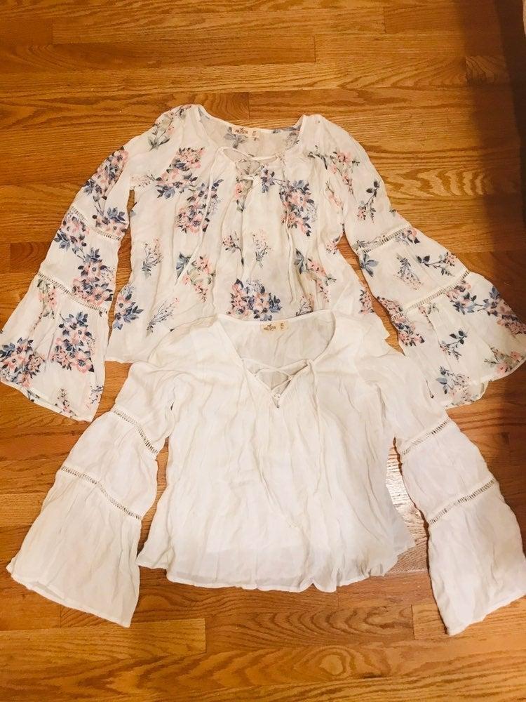 Hollister summer blouse bundle