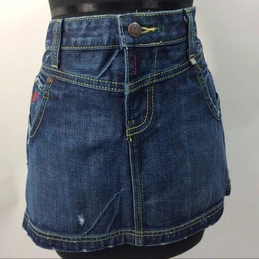 Cruel Girl 11 Jeans Mini Skirt 5 Pockets