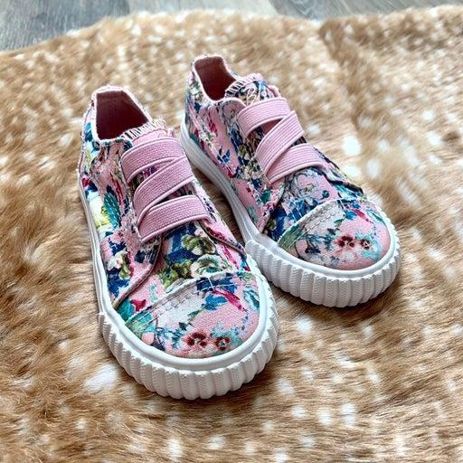 Toddler Girls Blowfish Malibu Floral Slip-On Shoes | Size 8