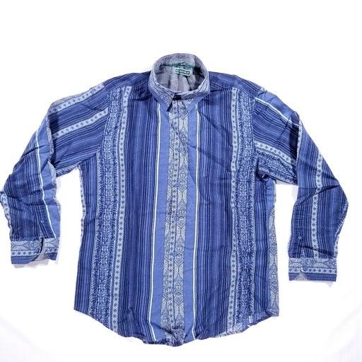 New Cubavera mens Shirt size L slim fit