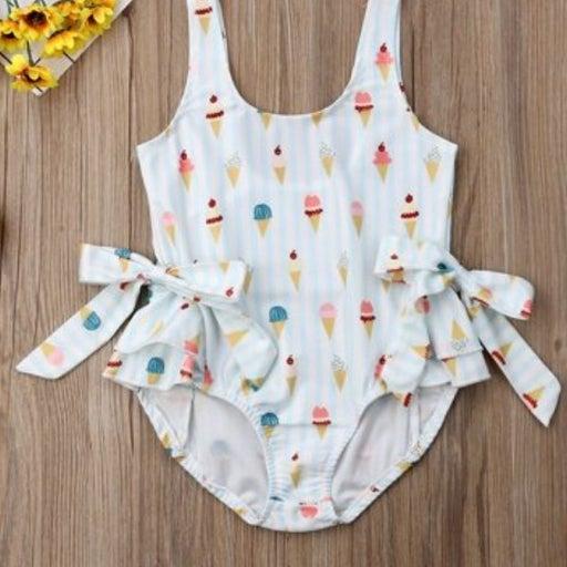 baby ice cream swimsuit
