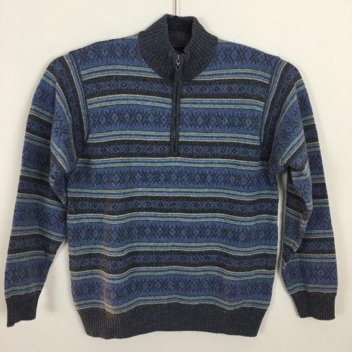 CULLEN Lambswool 1/4 Zip Up Sweater