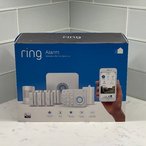 Ring Alarm Home Security System (1st Generation) - 10 Piece Alarm Security Set
