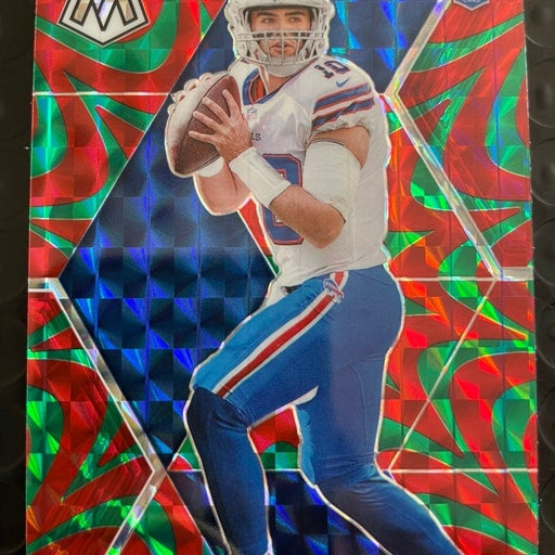 Jake Fromm Mosaic Red/Green Reactive Prizm Rookie