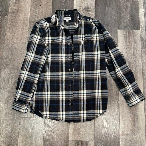 Carhartt Midweight Flannel Work Shirt Size Men's Small