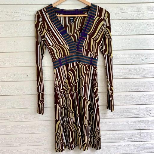 Custo Barcelona long sleeve dress