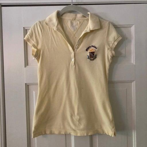 Small Sigma Kappa Yellow Polo