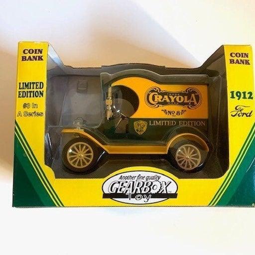 Crayola Delivery Car / Bank New