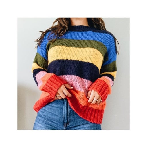 Women's Colorful Sweater