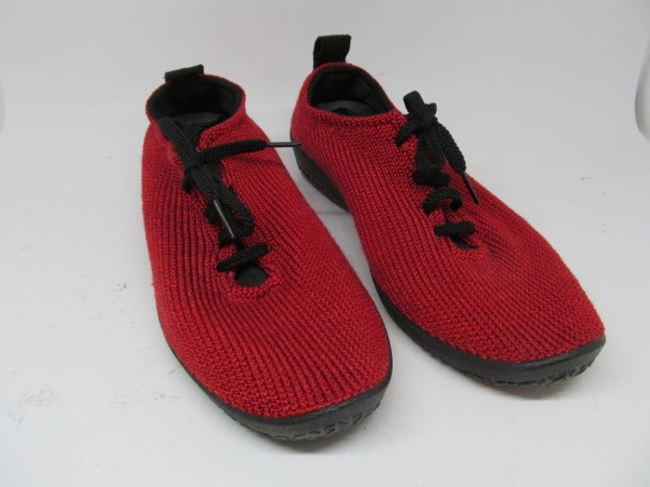 Arcopedico Womens Red Knit Shoes 10.5 M