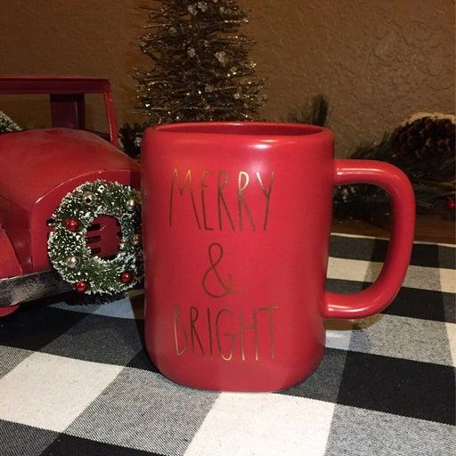 Rae Dunn Christmas MERRY Mug