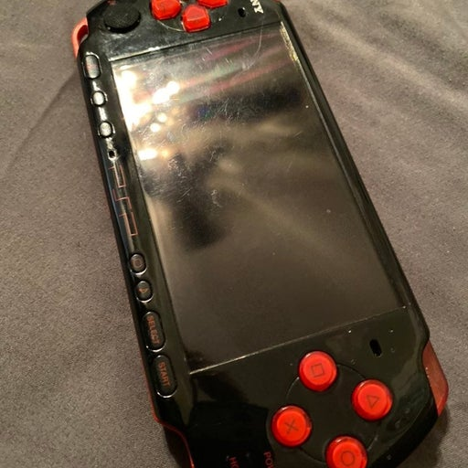 Sony Red PSP 3001
