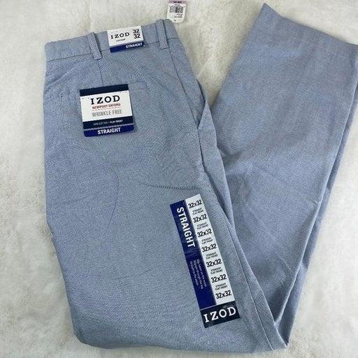 IZOD NWT New Sky Blue Dress Pants 32x32 Slacks